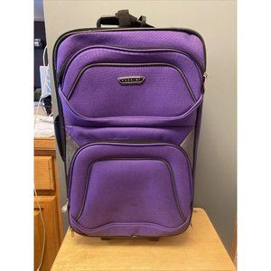 Prodigy Travel Suitcase Purple With Matching Tote